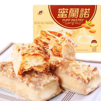台湾进口松塔巧克力夹心饼干192克盒装